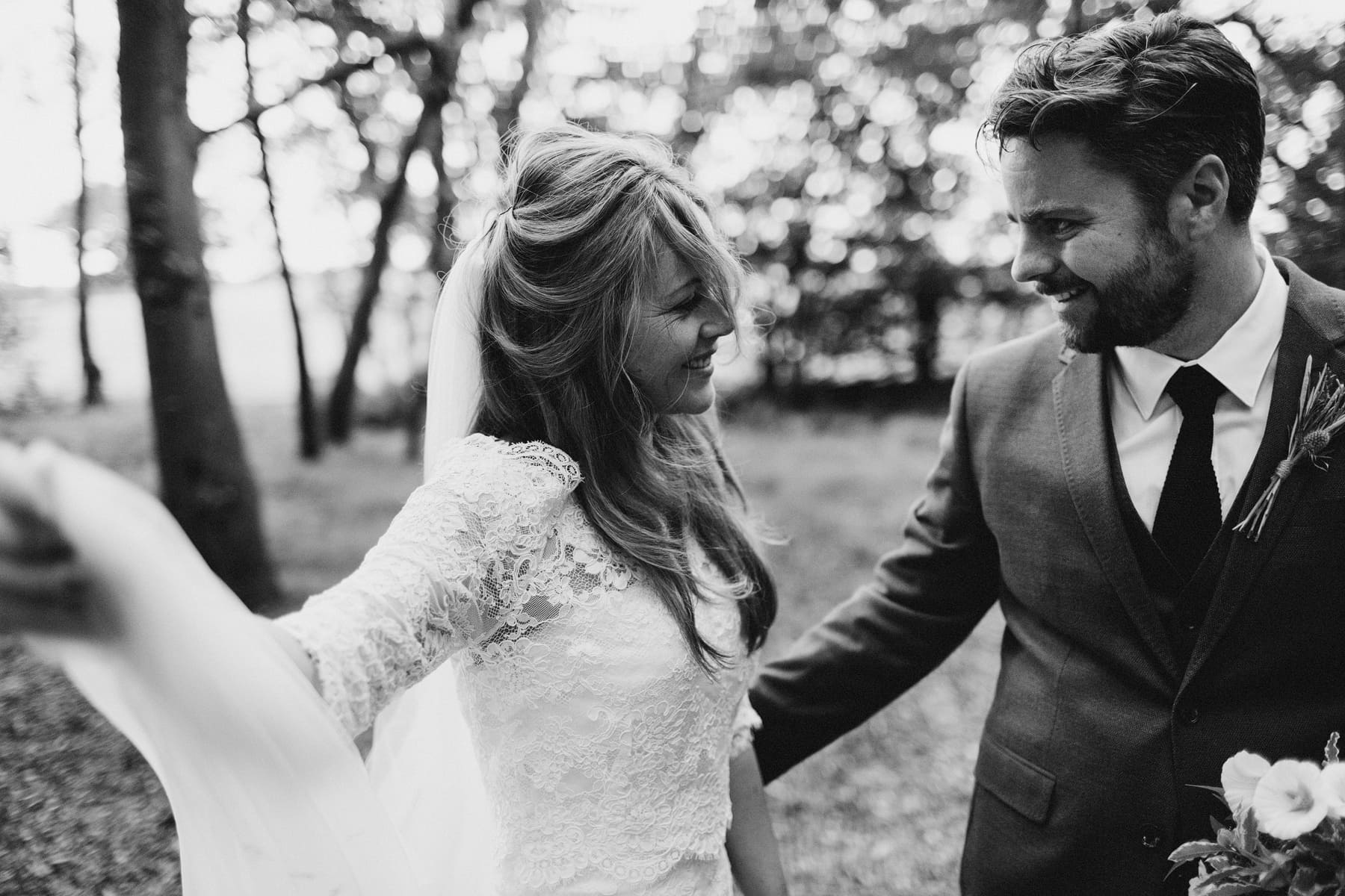 woodland wedding derbyshire