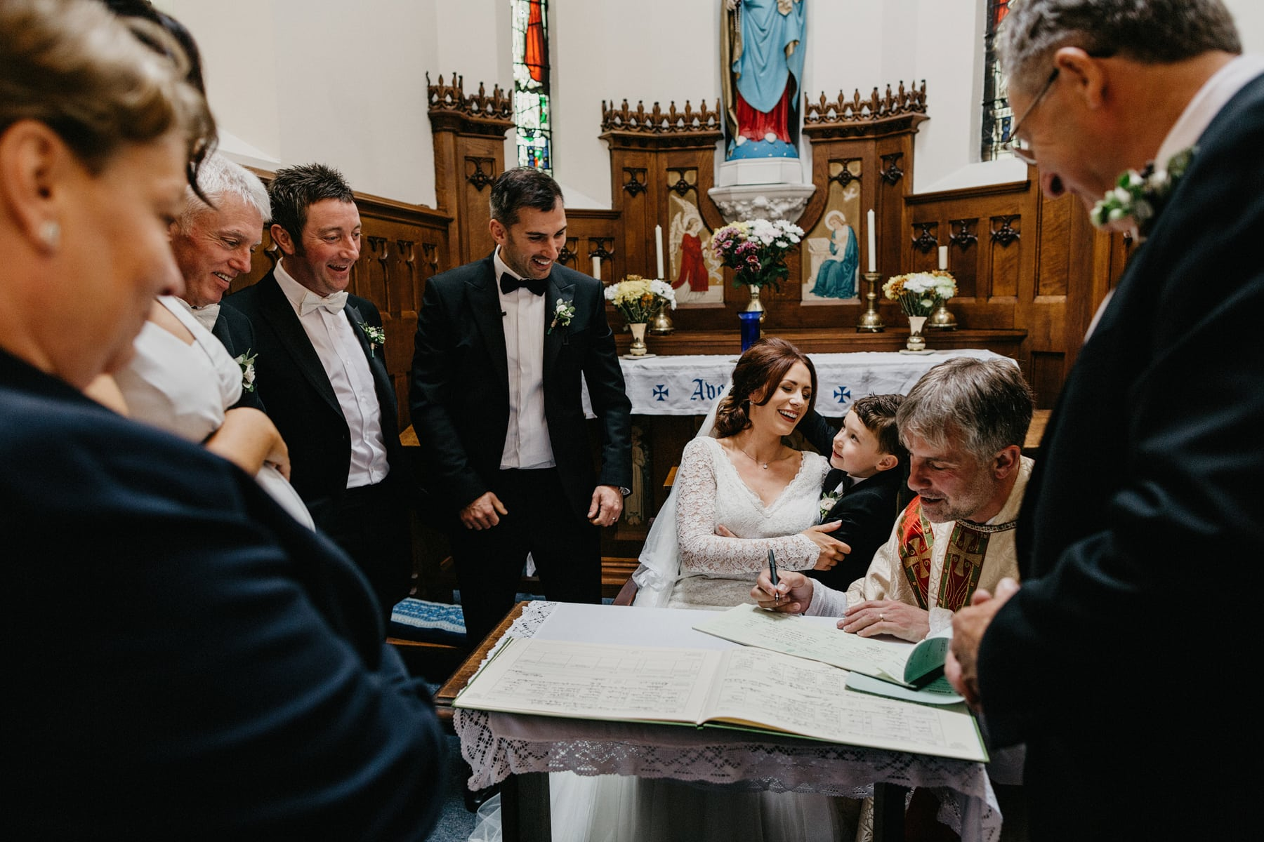 irish catholic wedding nottingham