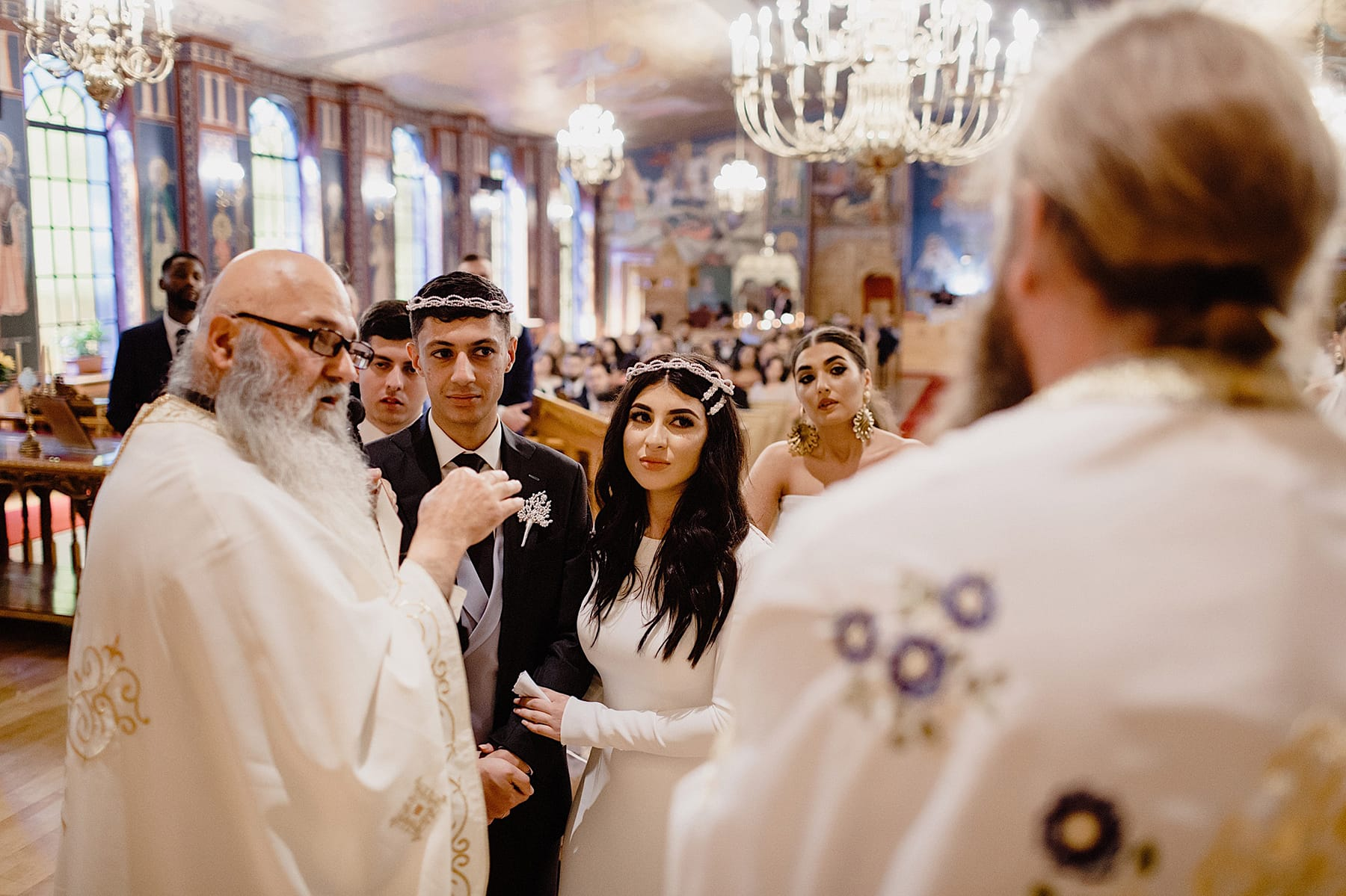 greek orthodox church holy trinity st luke wedding photos